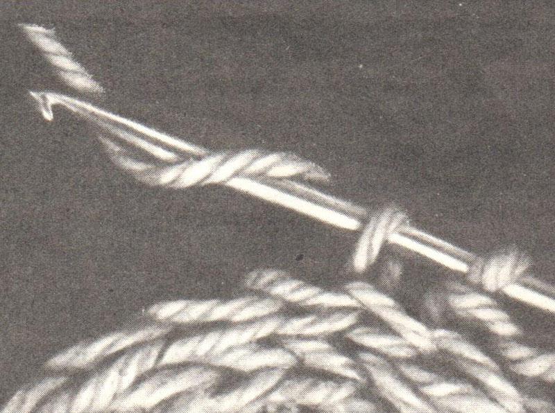 вязание под перемычку