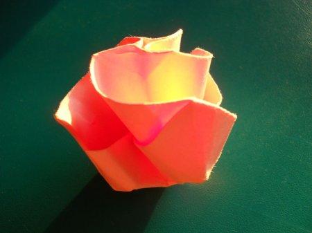 оригами для начинающих роза