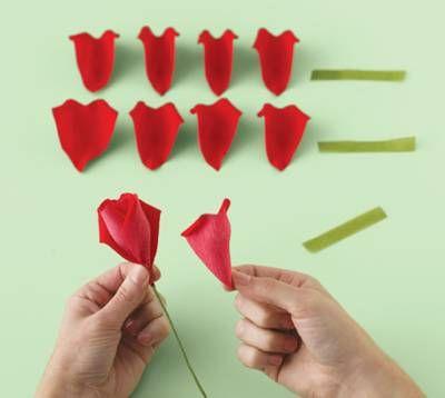 Как делать своими руками розы
