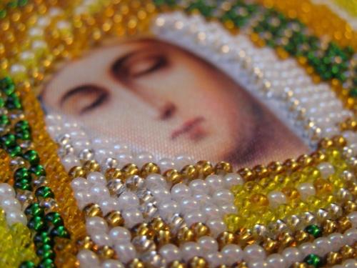 иконы бисером богородица