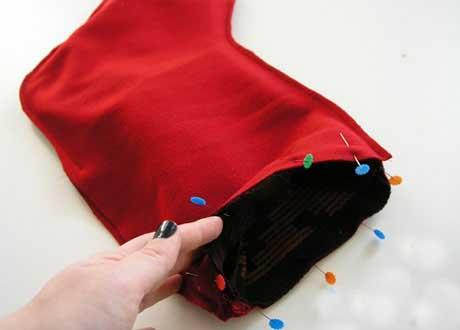 пришиваем подкладку