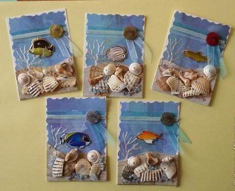 открытки из ракушек
