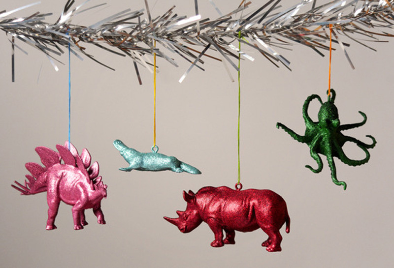 динозавры на елке