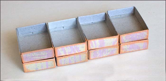 оклеиваем коробки