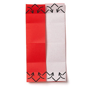 6объемные сердечки из бумаги