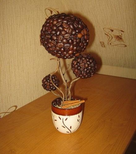 Как пошагово сделать кофейное дерево