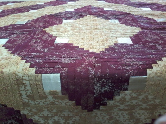 бревенчатая изба