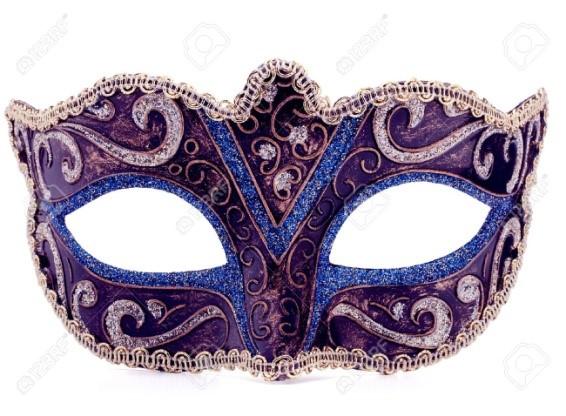 Карновальная маска своими руками