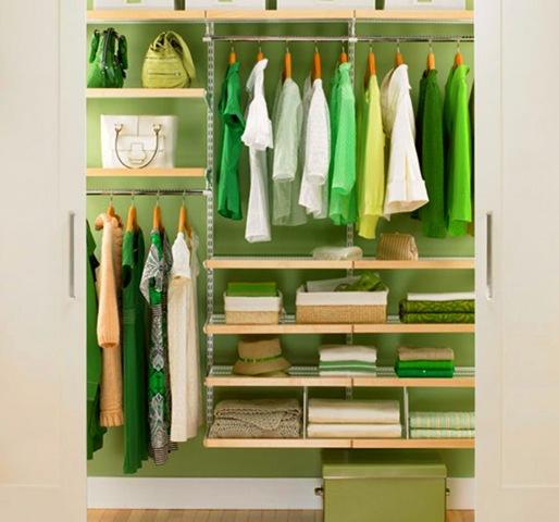 зеленый шкаф