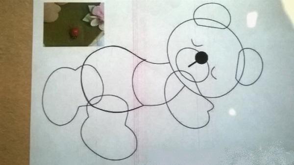 выкройка медвежонка