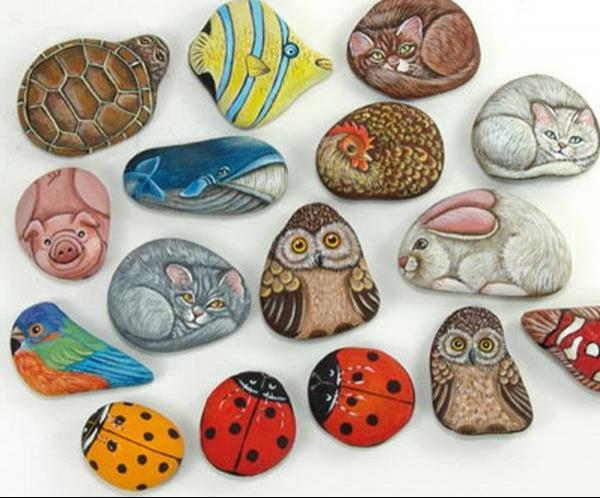 зверюшки на камнях
