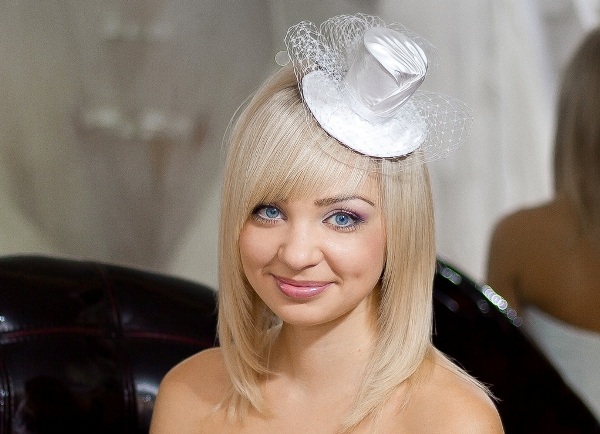 Маленькая шляпка с вуалью мастер класс 125