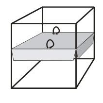 коробка с двойным дном
