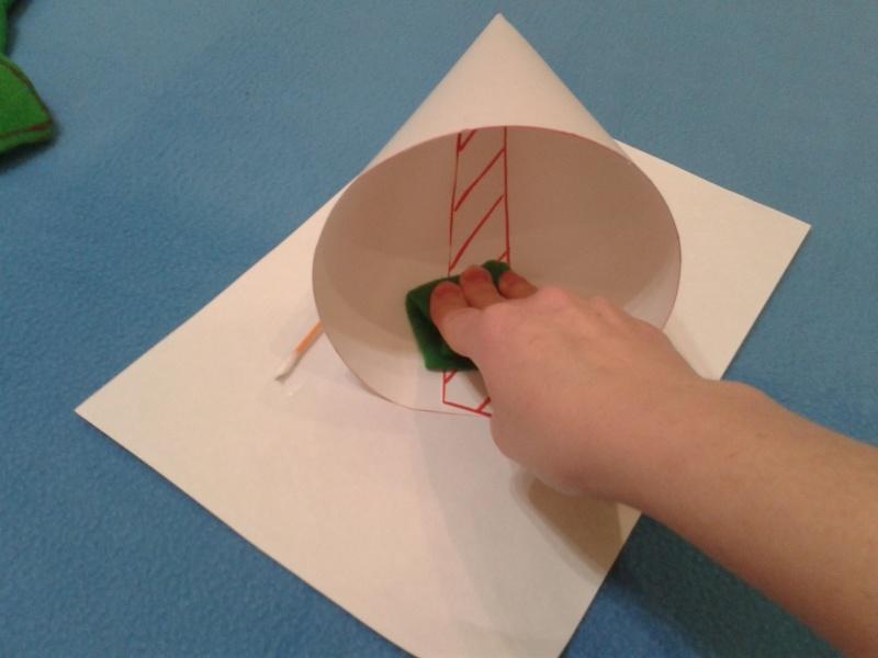 Как правильно сделать конус из картона видео