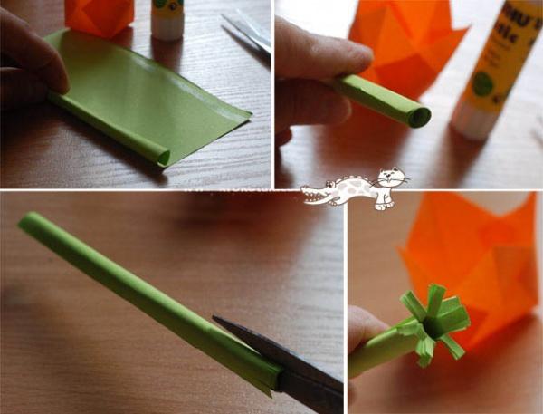 Поделки цветы тюльпан - Как сделать тюльпан из бумаги своими руками поэтапно для детей