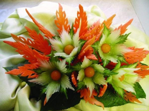 карвинг-цветы