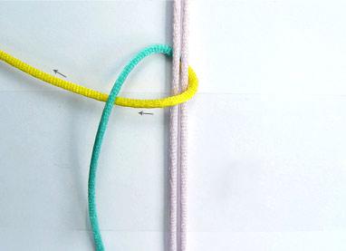 плетем квадратный узел