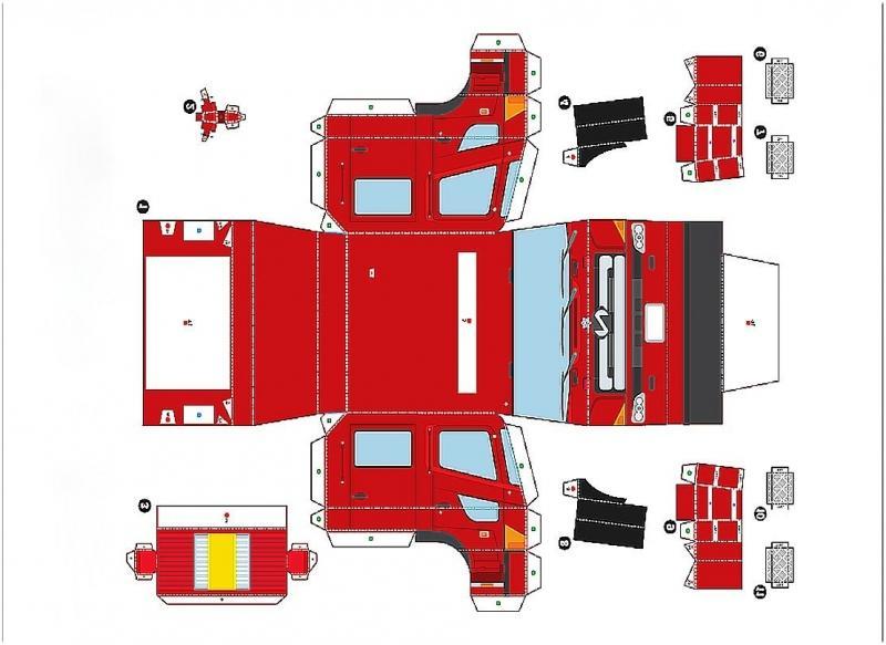Из чего сделать пожарную машину своими руками
