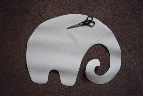 выкройка слона