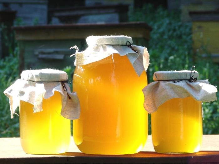 растопить мед на солнце