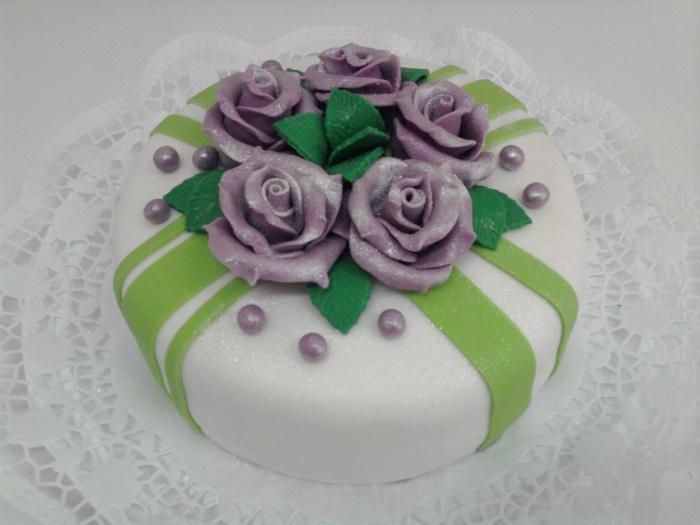 С мастики торты с фото и рецептами
