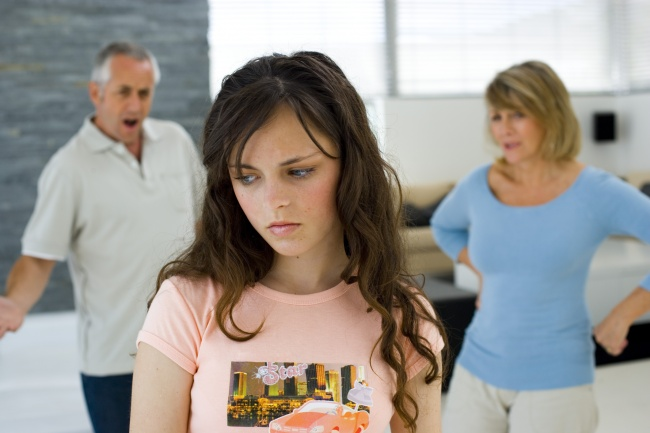 ссора с ребенком