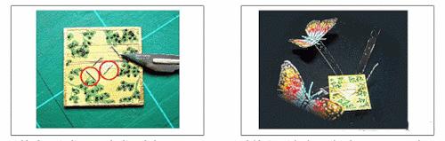 делаем бабочек