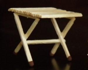 мебель из спичек