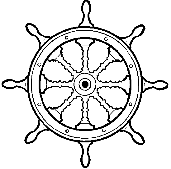 Штурвал для корабля своими руками 60