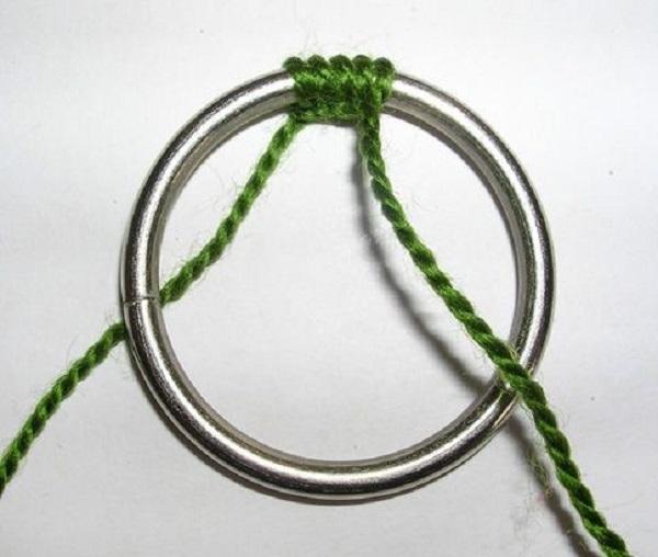 мандала на кольце