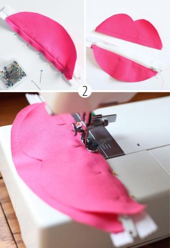сшивание половинок