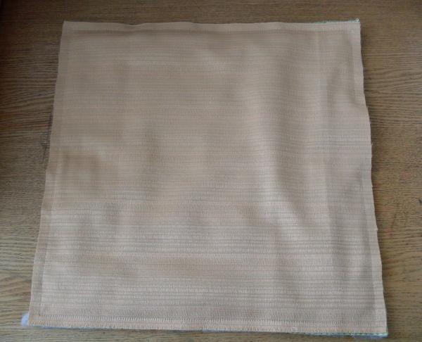 изнанка коврика