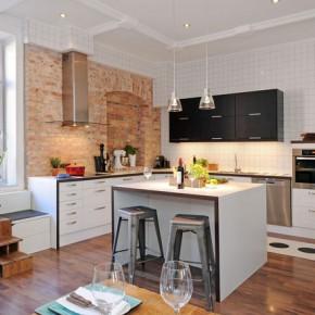 кухня в скандинавском интерьере
