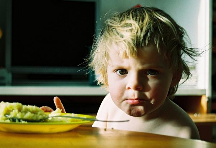 ребенок расстроен