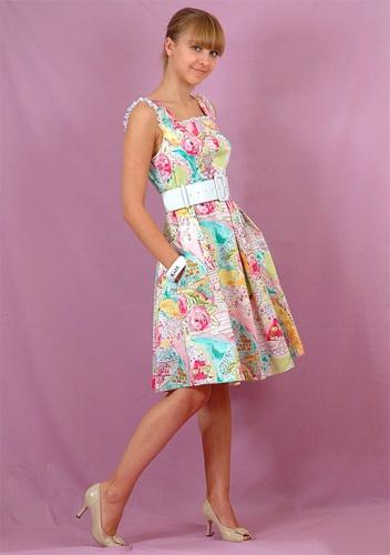 Длинные сарафаны в цветах на лето картинки