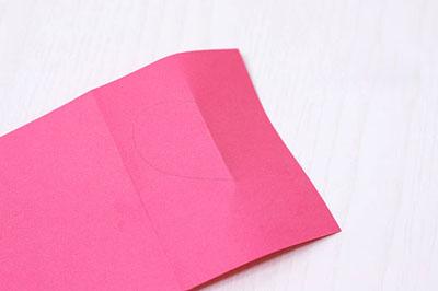 2 как сделать валентинку из бумаги