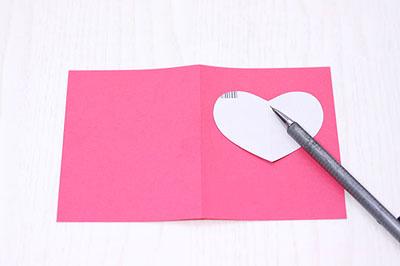 1 как сделать валентинку из бумаги