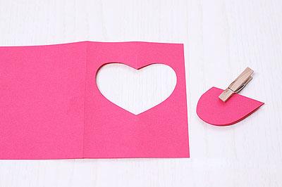 3 как сделать валентинку из бумаги
