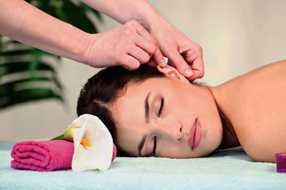 Точечный массаж против шума в ушах