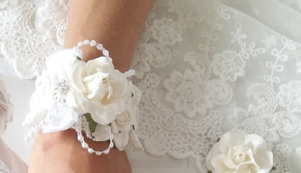 Браслеты из ленты подружкам невесты своими руками фото 2