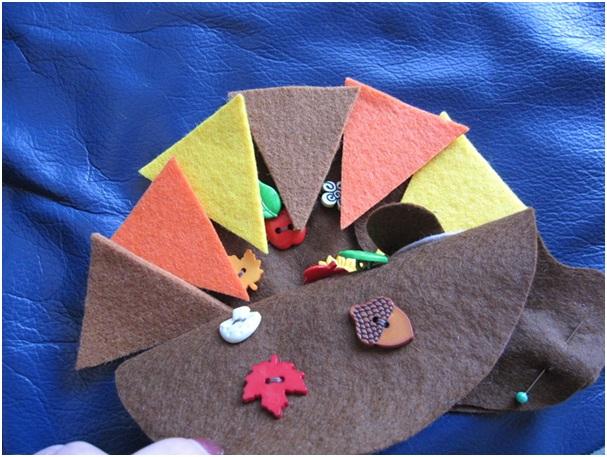 ежик с цветными иголками