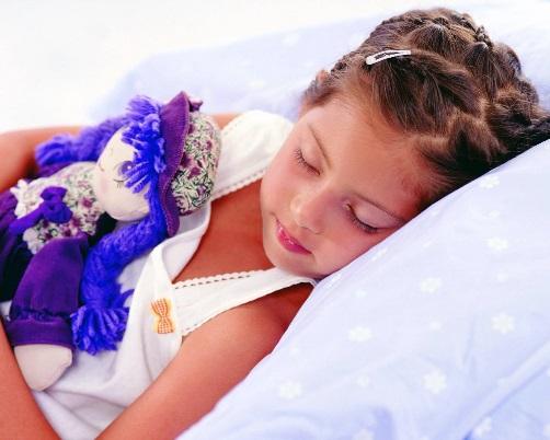 снимать спящего ребенка