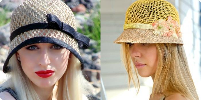 ажурная шляпка