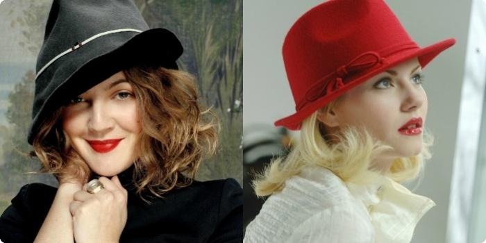 романтические шляпки