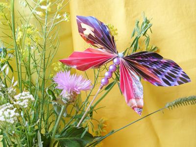 бабочка из бумаги