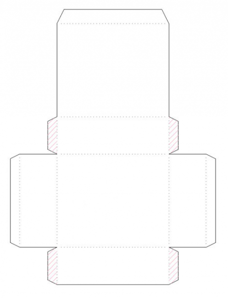 коробки с крышками своими руками схема