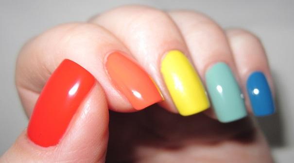 цвет ногтей фен шуй